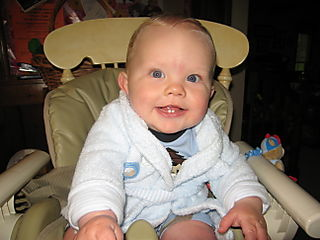 Andrew at eight months