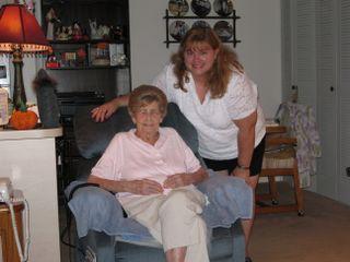16 Grandmom and me