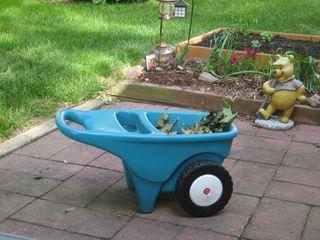 tiny wheelbarrow