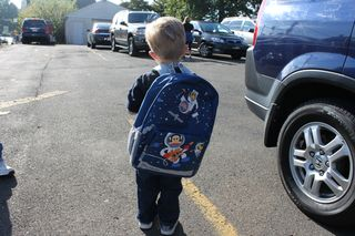 First day of preschool 002