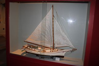Deal Island, MD Skipjack model boat