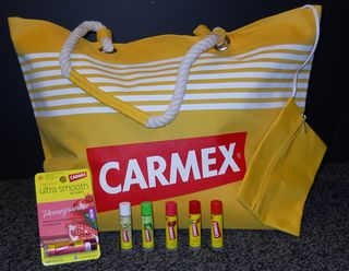 Carmex beach bag