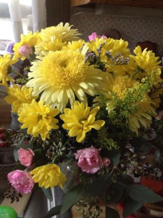 Bday flowers 12