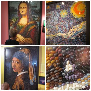 Jelly belly collage
