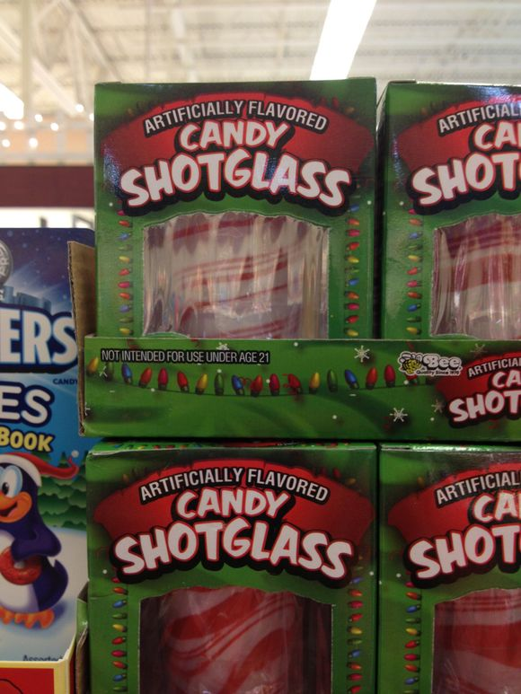 A funny thing in the candy aisle....