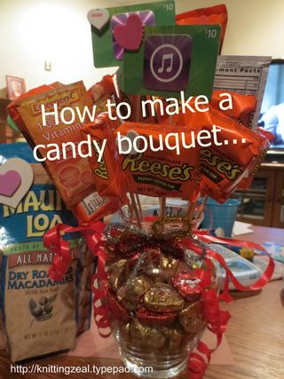 Candy bouquet a