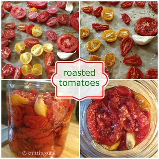 Roasted tomato collagea