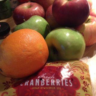 cranberry walnut relish