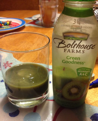 Green Goodness drink