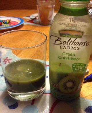 Green Goodness drink