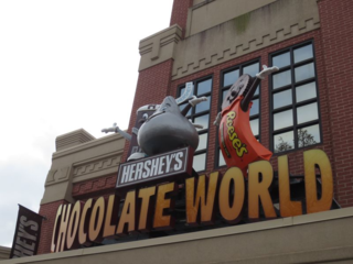 Chocolate World in Hershey, PA