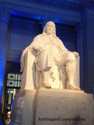 Benjamin Franklin in Philadelphia