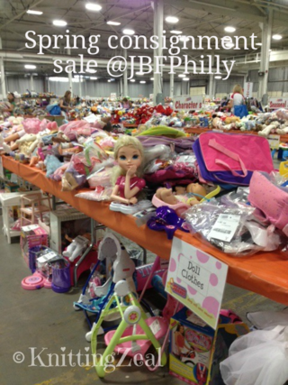 JBFPhilly sale floor in Oaks