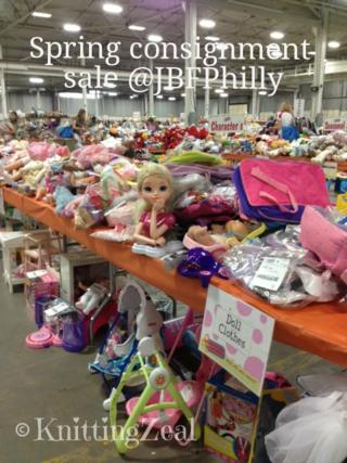 JBFPhilly sale floor in Oaks