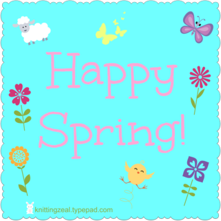 Happy spring graphic