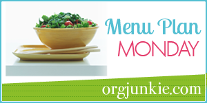 Menu-plan-monday salad