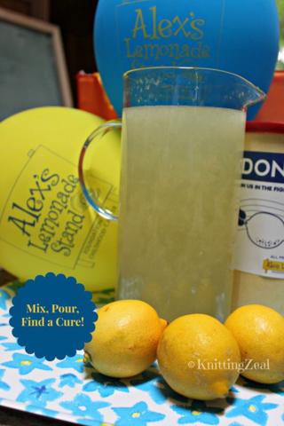 Mix Pour Find a Cure
