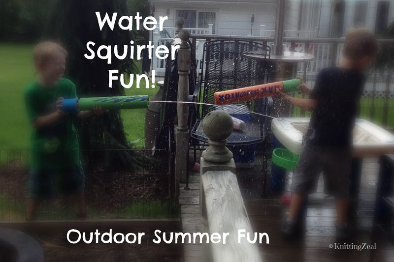 Water squirter
