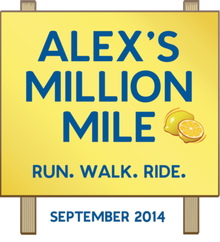 Logo - ALEXS MILLION MILE Event