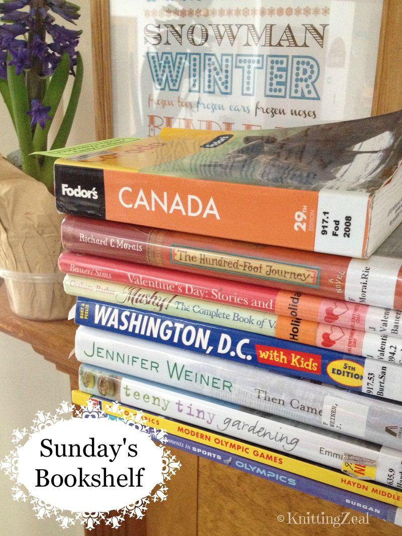 Sunday's bookshelf 2214