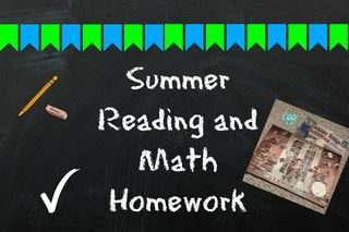 Summer blackboard 1