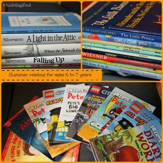 Summer book Collage