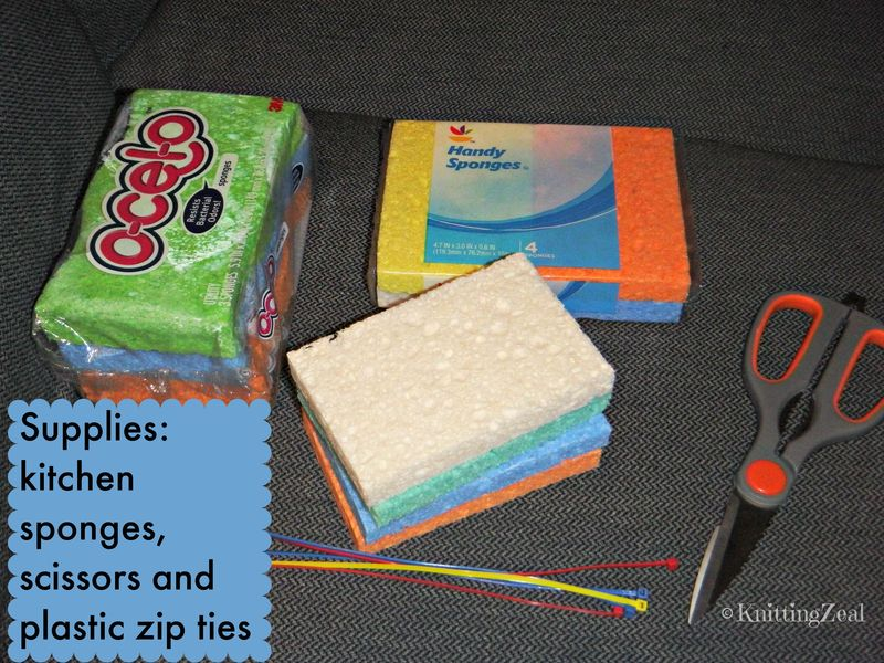 DIY sponge water supplies