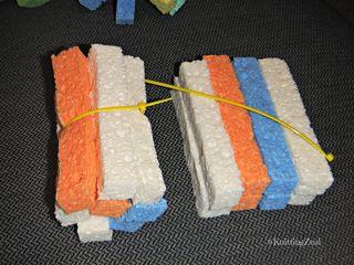 DIY water sponges