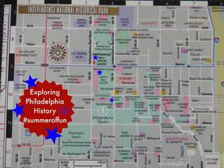 Historic Philly map