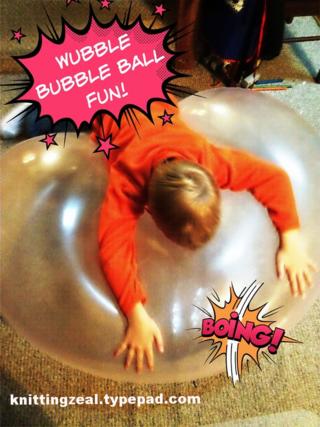 Wubble bubble boing