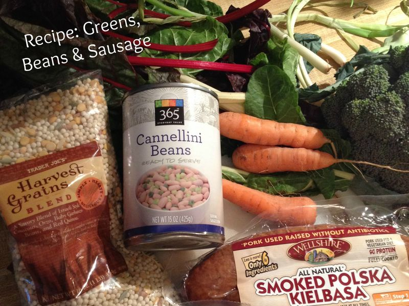 Greens beans sausage recipe