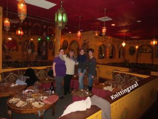 Casablanca dinner