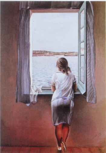 Figure at a Window, Dali, 1925